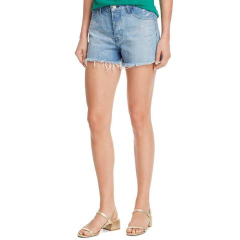 J Brand Blue Gracie Shorts