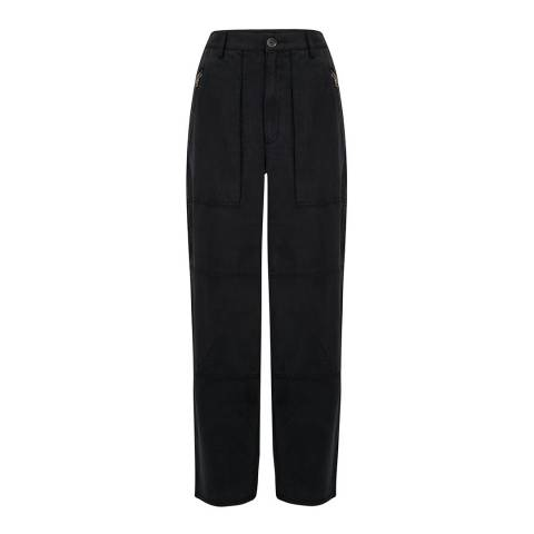 J Brand Black Noelle Carpenter Pant Jeans