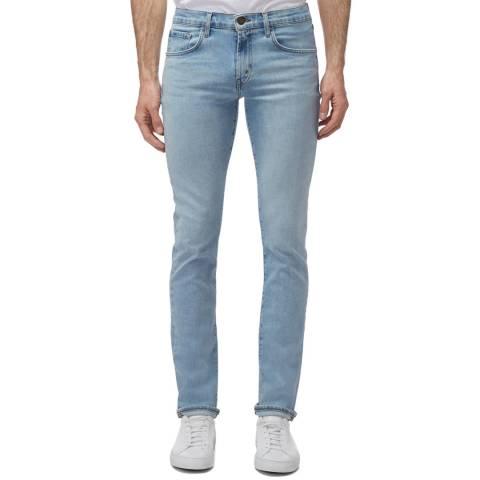 J Brand Light Blue Tyler Tapered Stretch Jeans
