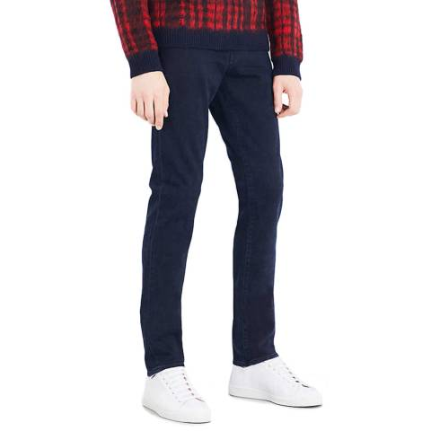 J Brand Navy Tyler Slim Stretch Jeans
