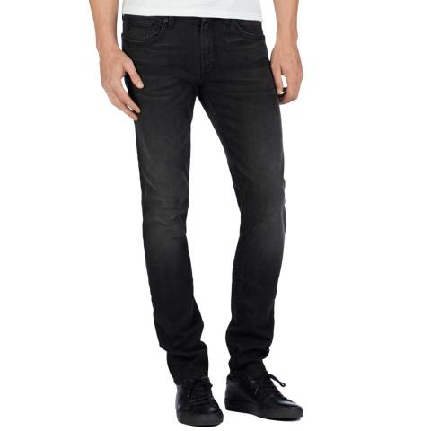 J Brand Black Mick Skinny Fit Jeans
