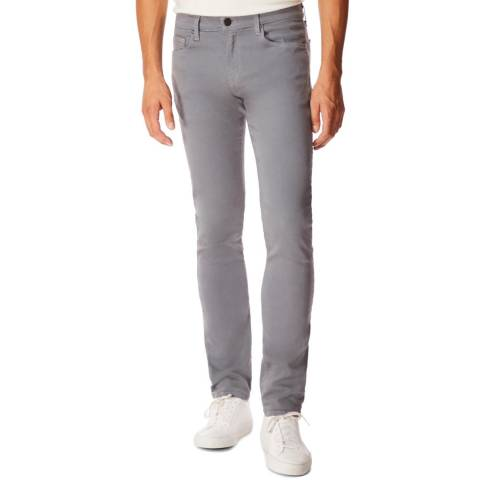 J Brand Grey Tyler Slim Stretch Jeans