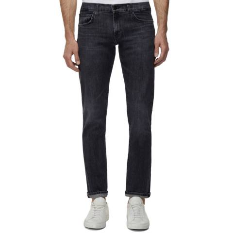 J Brand Charcoal Tyler Tapered Stretch Jeans