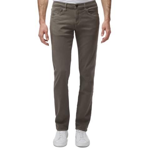 J Brand Khaki Tyler Slim Stretch Jeans