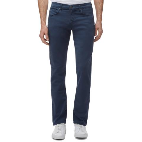 J Brand Petrol Kane Straight Stretch Jeans