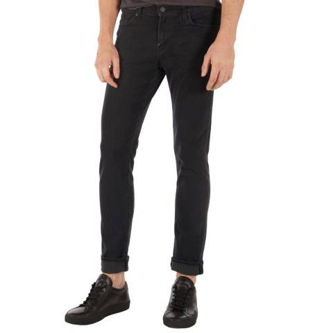 J Brand Black Tyler Slim Fit Jeans