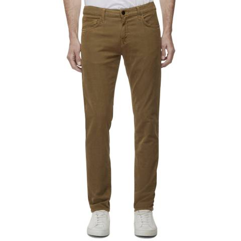 J Brand Tan Tyler Slim Fit Jeans