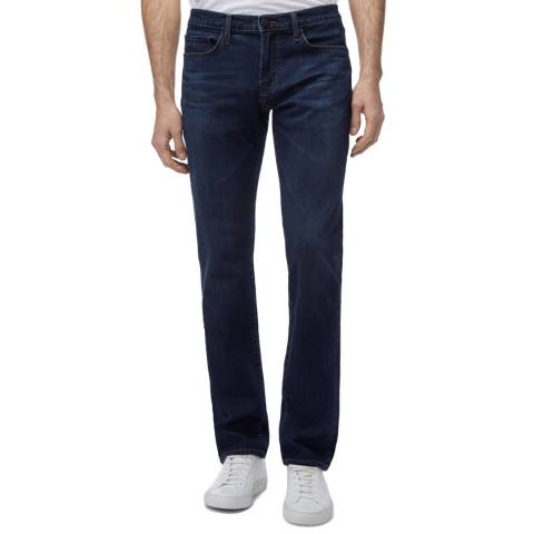 J Brand Midnight Kane Straight Stretch Jeans