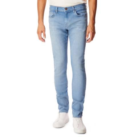 J Brand Blue Mick Skinny Fit Jeans
