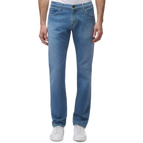 J Brand Blue Kane Straight Stretch Jeans