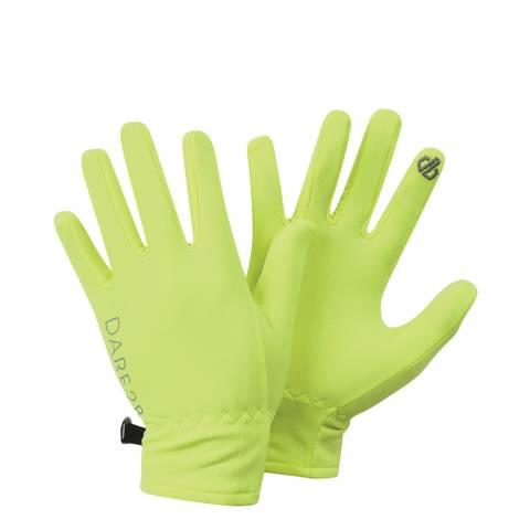 Dare2B Florescent Yellow Chimerical Lightweight Gloves