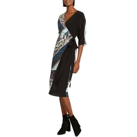 Mint Velvet Francesca Print Wrap Dress