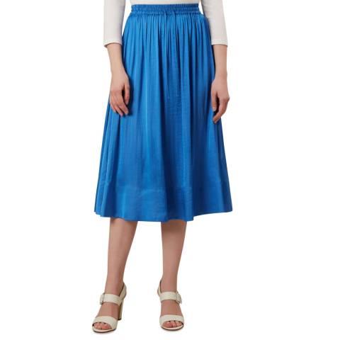 Hobbs London Blue Cammy Skirt