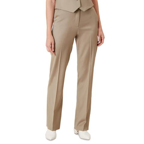 Hobbs London Neutral Penelope Trousers