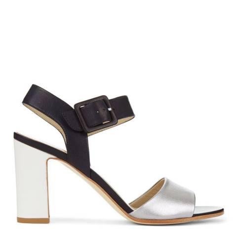 Hobbs London Navy Rhian Sandal Heels
