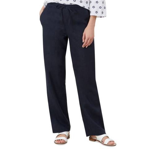 Hobbs London Navy Porthemer Navy Trousers