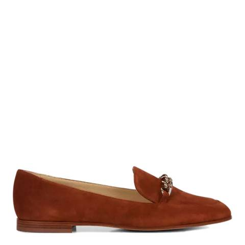Hobbs London Tan Hannah Loafers