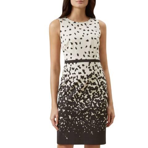 Hobbs London Ivory Arabella Print Dress