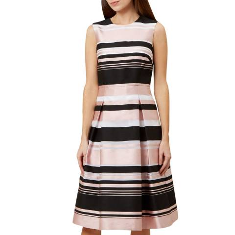 Hobbs London Multi Bridgette Stripe Dress