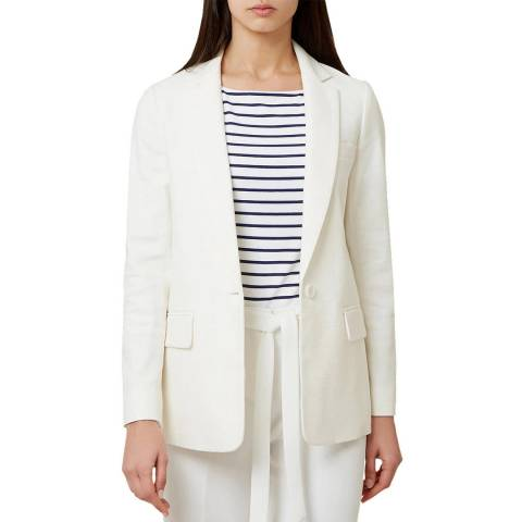 Hobbs London White Posey Jacket