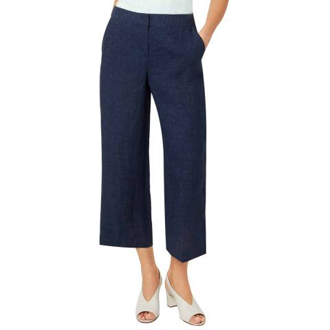 Hobbs London Navy Cynthia Trousers