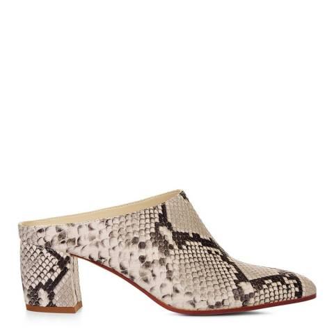 Hobbs London Snake Print Sienna Court Shoes