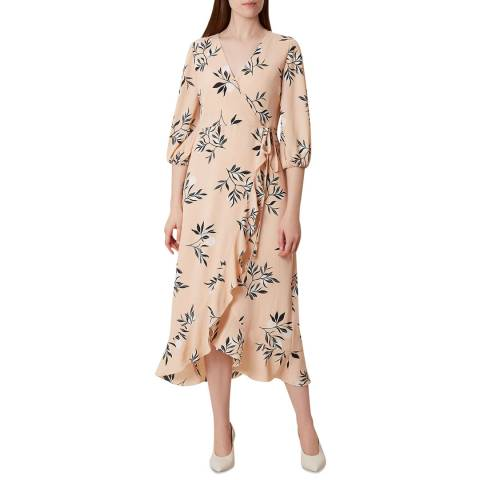 Hobbs London Pink Kayla Floral Dress