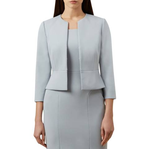 Hobbs London Pale Blue Harper Jacket