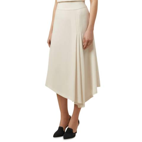 Hobbs London Ivory Cecilia Skirt