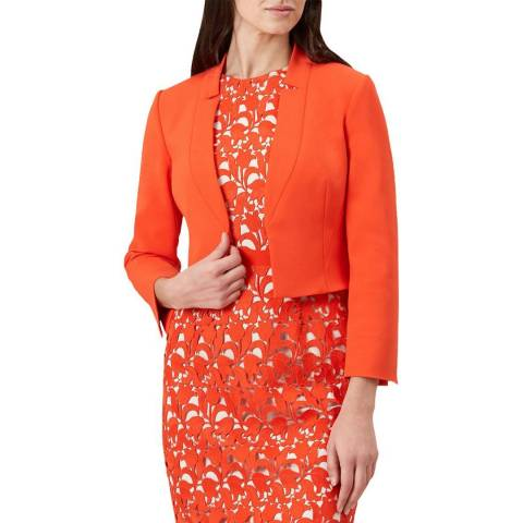 Hobbs London Orange Imogen Jacket