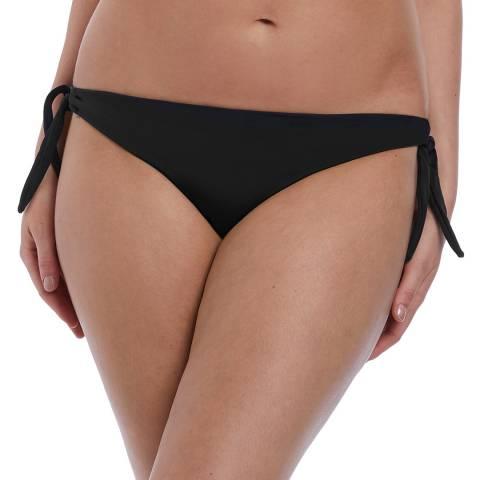 Freya Black Deco Swim Bikini Tie Side Brief