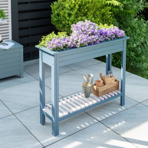Norfolk Leisure Galaxy High Planter with Zinc Tray