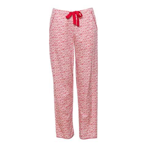 Cyberjammies Red Multi Evie Woven Fan Print Pyjama Pant