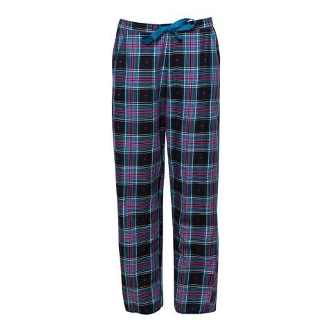 Cyberjammies Multi Ezme Woven Heart Dobby Check Pyjama Pant