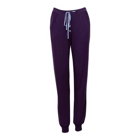 Cyberjammies Purple Sophie Indigo Knit Pyjama Pant