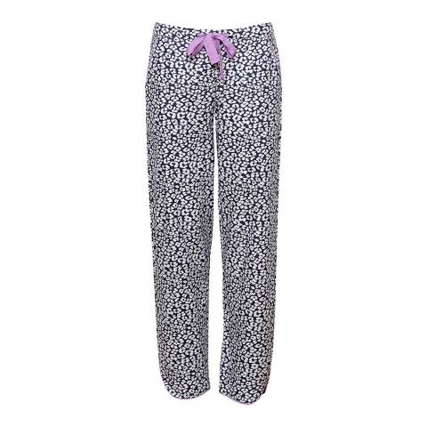 Cyberjammies Multi Laura Woven Animal Print Pyjama Pant