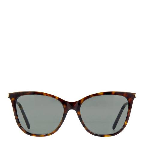 Saint Laurent Women's Brown Saint Laurent Sunglasses 55mm