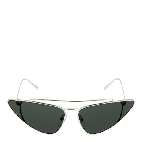 Prada Women's Silver Prada Sunglasses 68mm