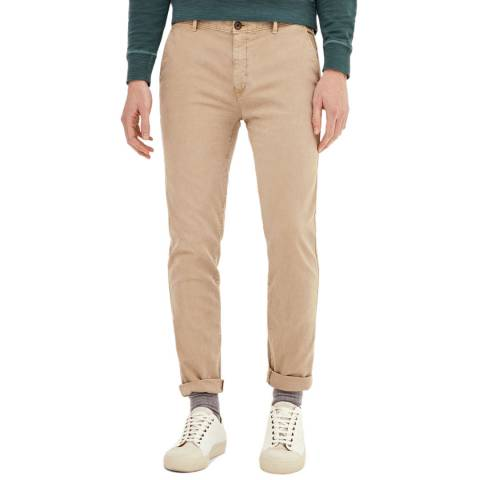Hackett London Beige London Slim Stretch Chinos