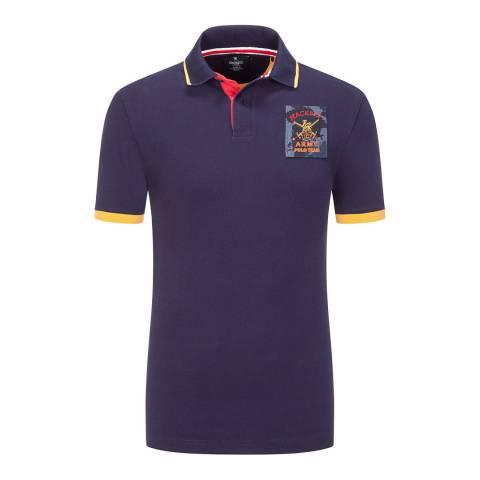 Hackett London Ink Army Cotton Polo Shirt