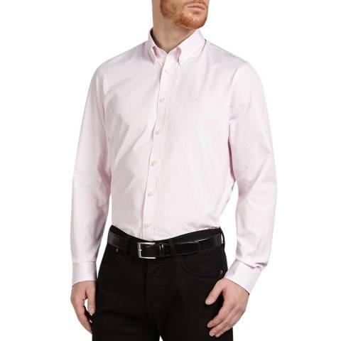 Hackett London White/Pink Classic Cotton Shirt