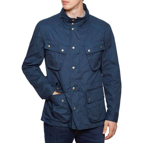 Hackett London Navy Velospeed Pockets Jacket