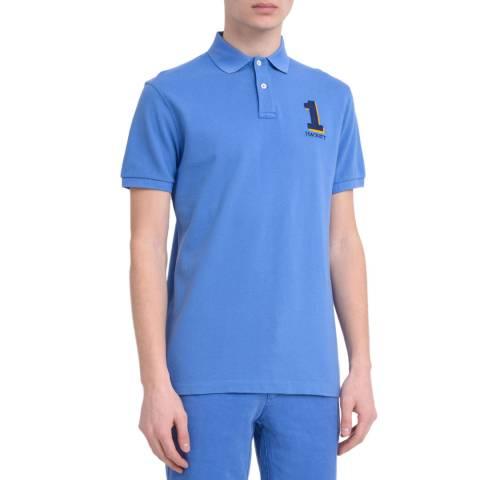 Hackett London Blue New Classic Cotton Polo Shirt