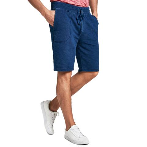 Hackett London Indigo London Cotton Shorts
