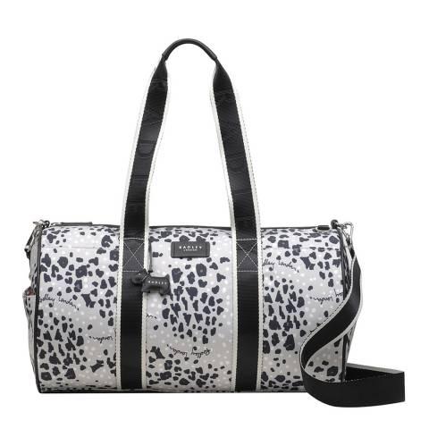 Radley Light Grey Leopard Duffle Bag