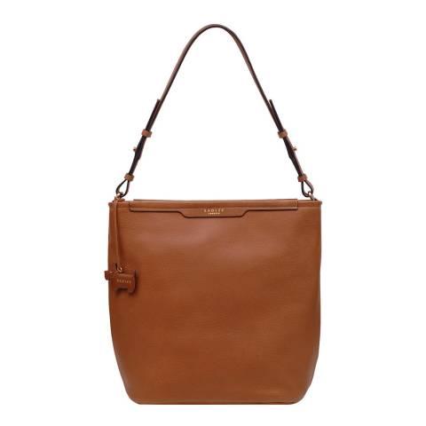 Radley Mid Tan Patcham Palace Medium Hobo Bag