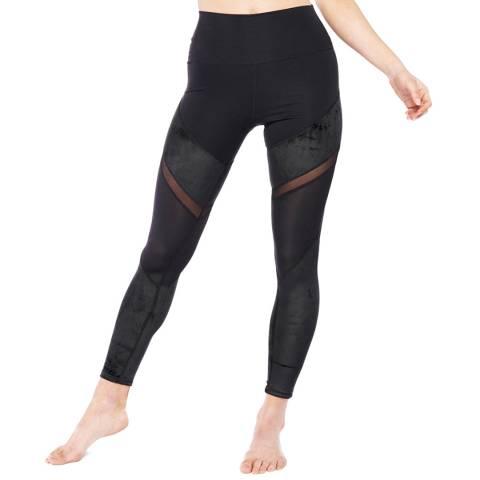 Electric Yoga Black Royally Velvet Leggings