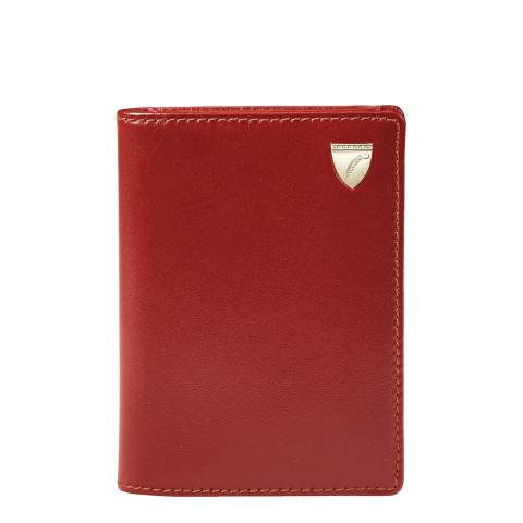 Aspinal of London Cognac Business Card Holder