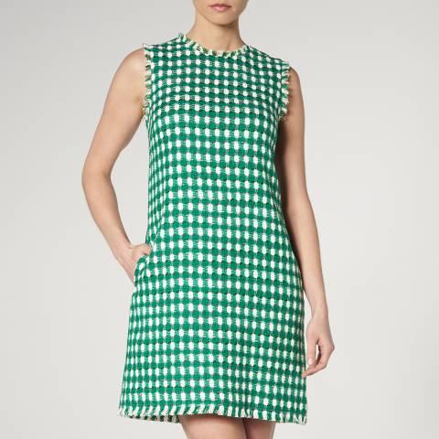 L K Bennett Green Tammy Sleeveless Dress