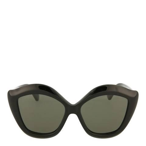 Gucci Women's Black Cat Eye Sunglasses